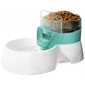 EBI Drink- en Voederbak Pet Feeder 2 in 1 Blauw