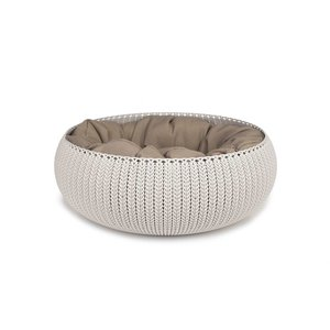 Curver Cozy Pet Bed Crème