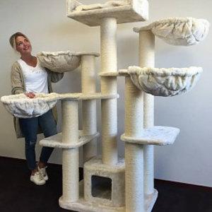RHRQuality Cat Tree Maine Coon Fantasy Plus Cream