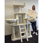 RHRQuality Cat Tree Panther Cream
