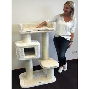 RHRQuality Cat Tree Devon Rex Cream