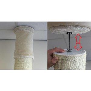 RHRQuality Tiragraffi Maine Coon Tower PLUS Cream