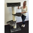 RHRQuality Cat Tree Royalty Taupe