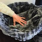 RHRQuality Amaca 45cm de Luxe Dark Grey  Ø 12cm