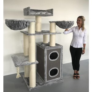 RHRQuality Tiragraffi Cat Paradise Light Grey