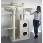 RHRQuality Cat Tree Cat Paradise Cream