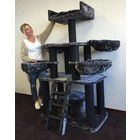 RHRQuality Cat Tree Panther PLUS Blackline Dark Grey