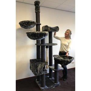 RHRQuality Cat Tree Catdream de Luxe Blackline Dark Grey
