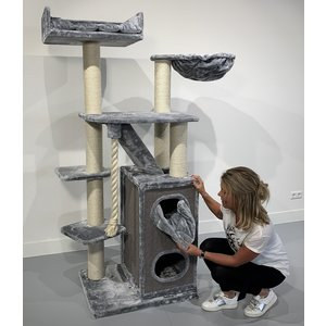 RHRQuality Tiragraffi Cat Penthouse Light Grey