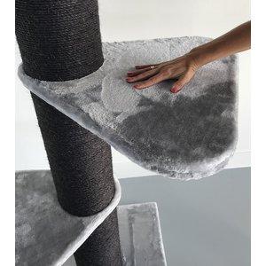 RHRQuality Tiragraffi Maine Coon Tower Plus Blackline Light Grey