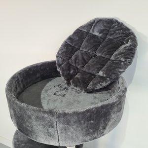 RHRQuality Tiragraffi Maine Coon Sleeper de Luxe Blackline Dark Grey