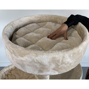 RHRQuality Tiragraffi Maine Coon Sleeper Plus Cream