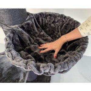 RHRQuality Amaca Ø12cm de Luxe Dark Grey 45cm