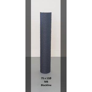 RHRQuality Palo Sisal 75x12 M8 BLACKLINE