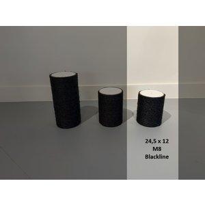 RHRQuality Palo Sisal 24.5x12 M8 BLACKLINE