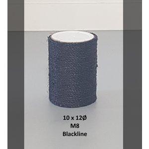 RHRQuality Palo Sisal 10x12 M8 BLACKLINE