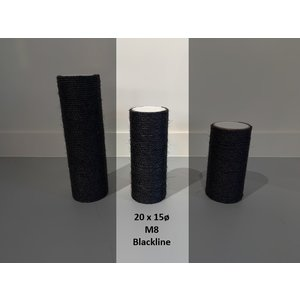 RHRQuality Palo Sisal 20x15 M8 BLACKLINE