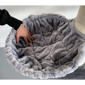 RHRQuality Tiragraffi Maine Coon Sleeper Plus Light Grey