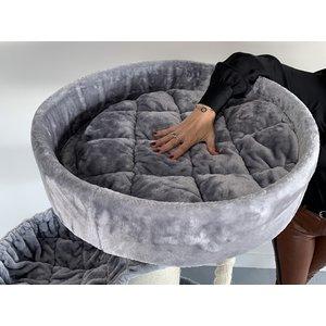 RHRQuality Tiragraffi Maine Coon Sleeper de Luxe Light Grey