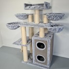 RHRQuality Tiragraffi Cat Paradise Plus Light Grey