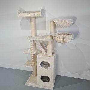 RHRQuality Tiragraffi Cat Penthouse Plus Cream