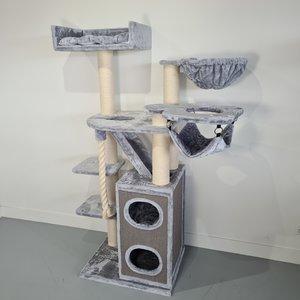 RHRQuality Tiragraffi Cat Penthouse Crown Light Grey