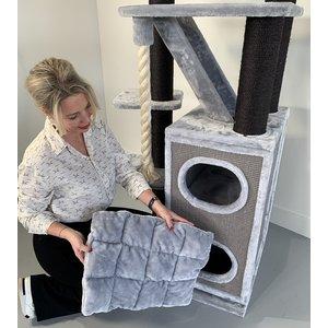 RHRQuality Tiragraffi Cat Penthouse Crown Blackline Light Grey