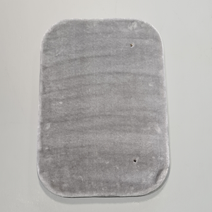 RHRQuality Plateau Medio Rettangolare Maine Coon Fantasy 60x40 cm Light Grey