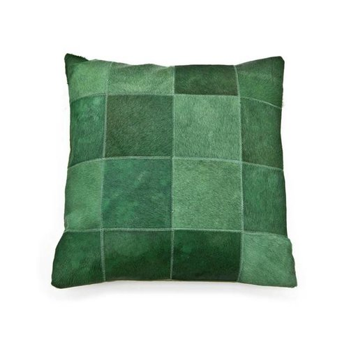 Pillow Patchwork leather 45x45 cm