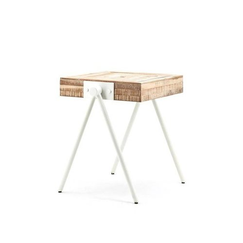 Sidetable square small - white