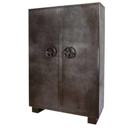 Kabinet Lockers 2 deurs - metaal