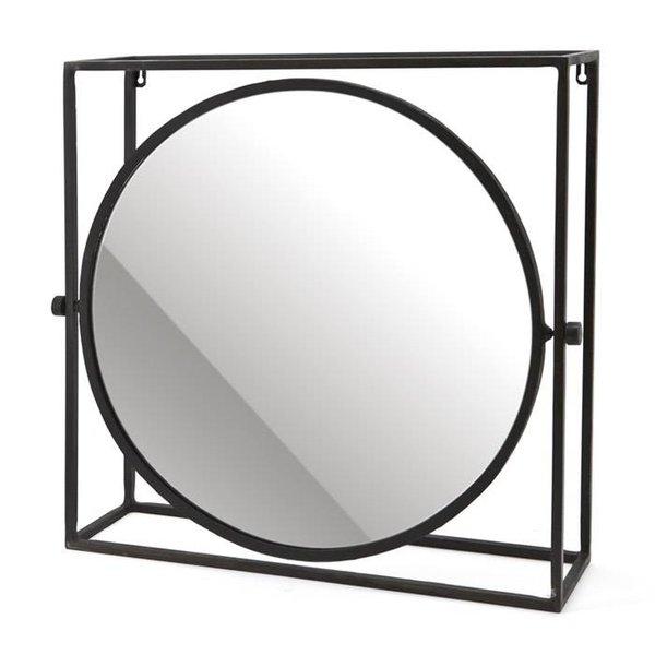 Mirror in frame round