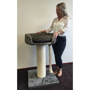 RHRQuality Cat tree Chartreux Taupe