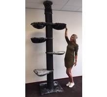 RHRQuality Kratzbaum Main Coon Tower PLUS Blackline Dark Grey