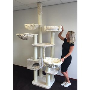 RHRQuality Cat Tree Catdream de Luxe Cream