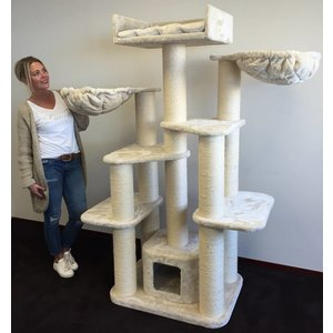 RHRQuality Cat Tree Maine Coon Fantasy Cream