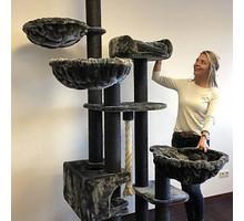 RHRQuality Kratzbaum Catdream de Luxe Blackline Dark Grey
