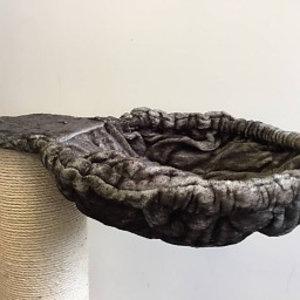 RHRQuality Hammock 45cm de Luxe Taupe Ø 20cm