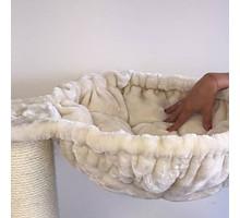 RHRQuality Hangmat 45cm de Luxe Crème Ø 20cm