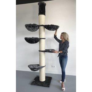 RHRQuality Kratzbaum Main Coon Tower  PLUS Dark Grey