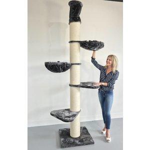 RHRQuality Kratzbaum Maine Coon Tower Dark Grey