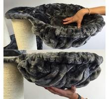 RHRQuality Hammock 45cm de Luxe Dark Grey 12-15cm