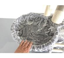 RHRQuality Hangmat 45cm de Luxe Light Grey 12-15cm