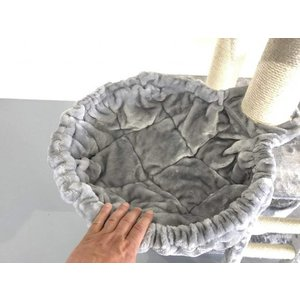 RHRQuality Hammock 45cm de Luxe Light Grey Ø 12cm