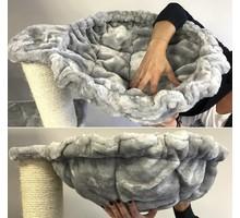 RHRQuality Hangmat 45cm de Luxe Light Grey Ø 20cm