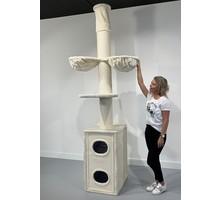 RHRQuality Kratzbaum Cat Tower Box Cream