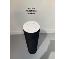 RHRQuality Sisalstamm 80x20cm M10 BLACKLINE (4 Löcher)