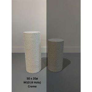 RHRQuality Sisalpaal 50x20cm M10 (4 gaten)