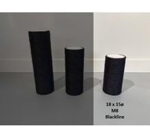 RHRQuality Sisalstamm 18x15cm M8 BLACKLINE