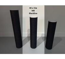 RHRQuality Sisalpaal 40x15Ø M8 BLACKLINE